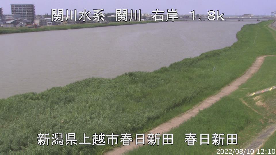 関川大橋下流
