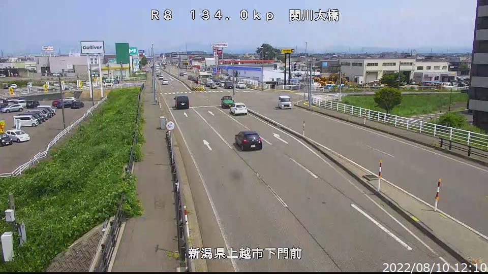 国道8号 関川大橋