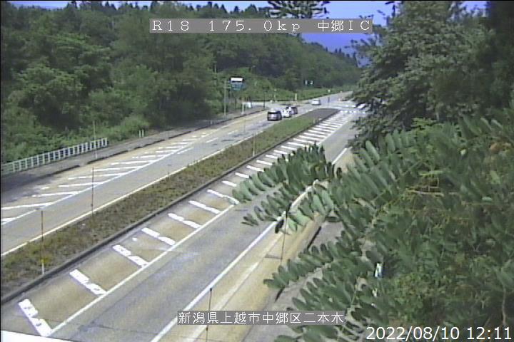 国道18号 中郷IC